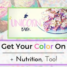 Give yourself the gift of a rainbowlicious treat that is packed with healthy goodness (and fun colored sprinkles, too!)