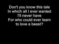 Nightwish - Beauty and the Beast with lyrics (Angels Fall First)