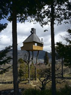 Terunobu Fujimori  Another treehouse. My favorite buildings aren't practical.