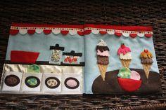 The Quiet Book ice cream