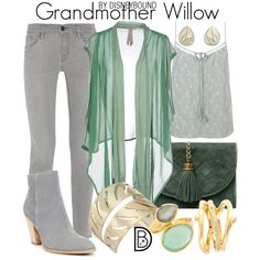 Disney Bound - Grandmother Willow