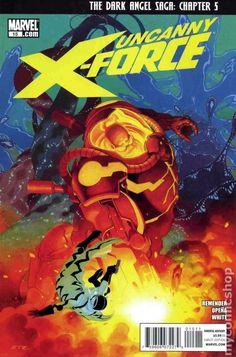 Uncanny X-Force (2010 Marvel) 15A Marvel Comic books modern age coverX-men Mutants
