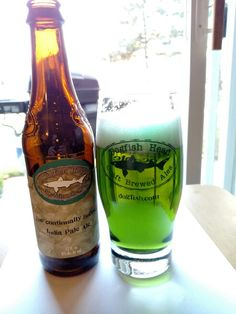 Celebrating St. Patrick's day the Dogfish Head way.