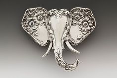 Silver Spoon Brooches - Elephant | Roses And Teacups