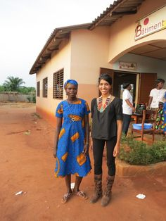 CARE board member Leila Janah met Viviane in Benin yesterday. Vivane's father sold her into domestic labor when she was just 10 years old, and then into child marriage when she was only 14. She is now part of a CARE program to reduce gender-based violence. She's also training to be a baker.