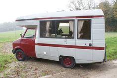 1980 Bedford CF2 Autosleeper camper van.