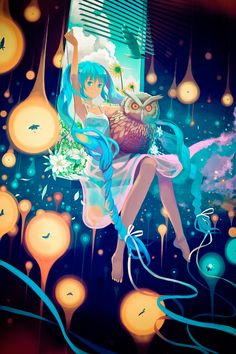 Browse VOCALOID Miku Charming Miku collected by Gina Chan and make your own Anime album. Character Concept, Character Art, Concept Art, I Love Anime, Awesome Anime, Anime Art Fantasy, Art Folder, Manga Girl, Anime Girls