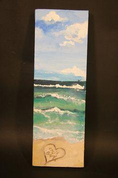 Caribbean Mini Slice of the Beach 2X4 print by ASliceofTheBeach