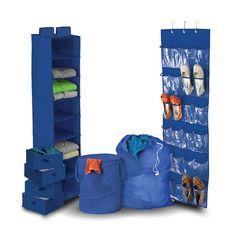 Kids Room Closet Storage Organizer 8 Piece Toys College Decor School Bins Hamper #KidsRoomOrganizerSet