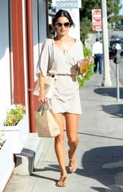 Alessandra Ambrosio Wrap Dress
