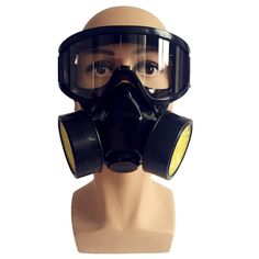 Spray paint gas mask respirator industrial chemical respirators mask self-absorption anti particulate full face coal masks