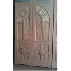 Ash Wood Main Double Door Hpd115   Main Doors   Al Habib Panel Doors