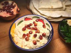 Moutabal - reteta libaneza Lebanese Recipes, Cooking Ideas, Zen, Oatmeal, Food And Drink, Meals, Vegetables, Breakfast, Salads