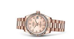 Rolex Datejust 31 Watch: 18 ct Everose gold - 178275