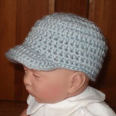 Free Crochet Baby Baseball Cap Pattern Crochet Amp Sewing