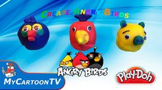 Play Doh Surprise Eggs   Play Doh Angry Birds    Play Doh Videos   Play ...