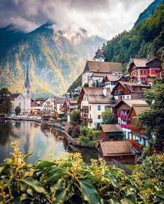 Halstatt, Austria. Beautiful Places To Visit, Beautiful World, Resorts, Places To Travel, Places To See, Real Life Fairies, Hallstatt, Austria Travel, Travel Europe