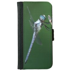 Dragonfly, iPhone Wallet Case. iPhone 6 Wallet Case