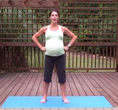 PREGNANCY EXERCISES – YOGA  NO excuses of waiting for baby to be born!