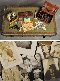 Stories of past lives: suitcases which belonged to patients who were residents of the Willard Asylum for the Chronic Insane, now at the New York State Museum.