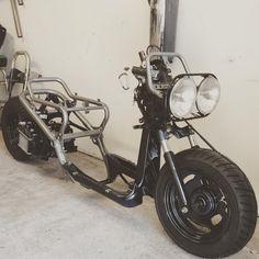 Custom Mini Bike, Scooter Custom, Mini Motorbike, Scooter Bike, Honda Ruckus, Offroader, Bike Photoshoot, Honda Cub, Drift Trike