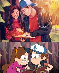 Gravity falls re-imagined Disney Drawings, Cartoon Drawings, Cute Drawings, Cartoon As Anime, Cartoon Art, Disney Memes, Disney Cartoons, Cartoon Characters As Humans, Modern Disney Characters