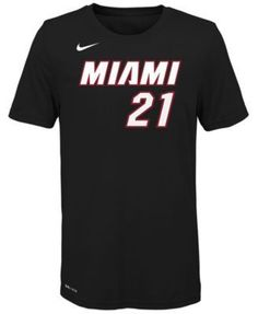 2b819f58a Nike Hassan Whiteside Miami Heat Icon Name   Number T-Shirt