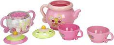 Tea Set with Tea Pot, Sugar Pot & Cups http://www.bathtimefuntime.com/baby-toy