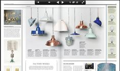 Factory (Copper) Industrial Pendant - Launch issue of WAREHOUSE HOME, November '14