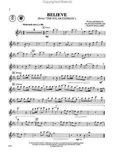 Flute Sheet Music for Popular Songs | instrumental solos popular christmas songs for flute.