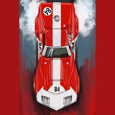 69 Corvette Stingray Race Car