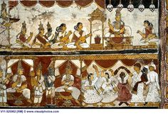 Indian wall mural painting