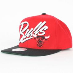 Chicago Bulls Mitchell & Ness - Snap Back Hat Cap by Mitchell & Ness. $23.99