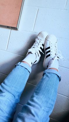 Old school #adidas #original #fashion #blue #aesthetic #jeans #tumblr