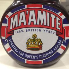 How much do you love Marmite? Passing through Waitrose this weekend, I came across this Diamond Jubilee version of Marmite. For the British, it is a fitting Best Of British, Marmite, May I, Union Jack, Good Old, Instagram Posts, Hate, How To Make, Corgis