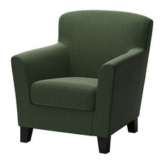 EKENÄS Chair IKEA The high back provides good support for your neck and head. $250 Durable cover of chenille quality with a slight sheen and a so...