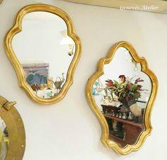 Pareja de espejos de estilo frances 2 Genoves Atelier