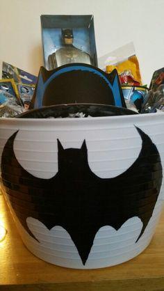 Batman diy easter basket
