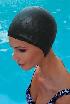 96b1ab4371f Small fitting vintage #style ladies swimming hat love it! Scuba Wetsuit,  Wet Hair