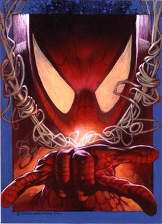 Spiderman Walloping Web-Snappers by DaveDeVries on DeviantArt Amazing Spiderman, Spiderman Art, Comic Books Art, Comic Art, Famous Superheroes, Superhero Characters, Epic Characters, Spectacular Spider Man, Spider Verse