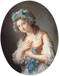 """Élisabeth Louise Vigée Le Brun (French, Paris 1755–1842 Paris). Duchesse de Guiche, 1784. The Metropolitan Museum of Art, New York. Private Collection 