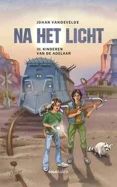 Na het Licht 3: Kinderen van de adelaar (Johan Vandevelde) - Illustratie: Martin Muster (Solid Tales / De Scriptomanen - 2017)