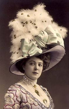 Vintage Rose Album - Well that is a hat and a half!