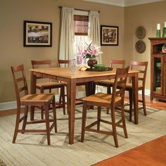 Home kitchen dining room furniture on pinterest for Dining room tables 36 x 54