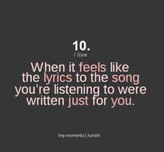 When it feels like the lyrics were written for you quotes music quote girl song lyrics emotions feelings song lyrics mood Song Lyric Quotes, Love Song Quotes, Music Quotes, Music Lyrics, Quotes To Live By, Me Quotes, Singing Quotes, Music Sayings, Best Song Lyrics