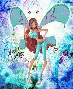 Winx club couture believix Aisha 6/7