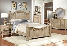 Shop for a Isabella Queen Ash 5Pc Panel Bedroom at Rooms To Go. Find Bedroom Sets that will look great in your home and complement the rest of your furniture.