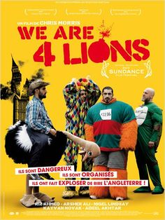 We Are Four Lions de Chris Morris Science Fiction, Fiction Movies, Comedy Movies, Lion Full Movie, Series Movies, Movies And Tv Shows, Tv Series, Satire, Cinema Posters
