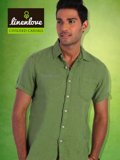 #Style comes in handy when you wear #LinenLove's Shirt!  Buy one at : http://bit.ly/1kzZowe