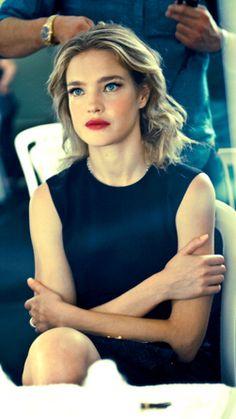 Natalia Vodianova- classic black shift pretty